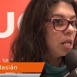 María Masián - usuaria Afanias